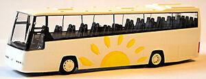 【送料無料】ホビー 模型車 車 レーシングカー ボルボデモバスデザインvolvo b12600 bus conception de demonstration 187 rietze 64600画像