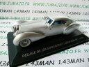 【送料無料】ホビー 模型車 車 レーシングカー オーストリアeネットワークaut19m 143 ixo altaya voitures dautrefois delage d8 120s pourtout aero 1938