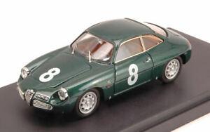 車・バイク, レーシングカー  alfa romeo giulietta sz n8 retired targa florio 1961 di prioloman143 model