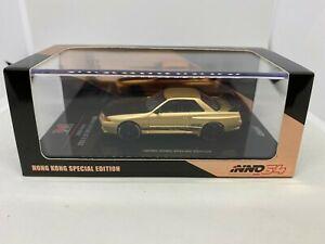 車・バイク, レーシングカー  inno models 164 nissan skyline gtr r32 rose gold hk special model inno64