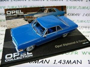 車・バイク, レーシングカー  ope26r voiture 143 ixo eagle moss opel collection diplomat a coupe 19651967