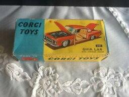 【送料無料】ホビー 模型車 車 レーシングカー コーギーギアクライスラーエンジンcorgi toys 241 ghia l64 with chrysler engine