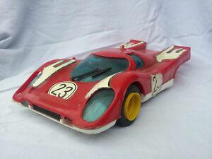 車・バイク, レーシングカー  porsche 917 a friction pocher longueur 26 cm le mans