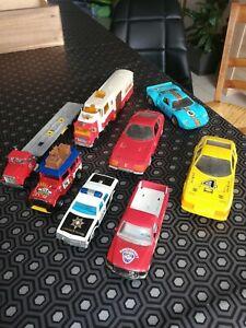 車・バイク, レーシングカー  lot n 3 voitures miniatures majorette ancienne