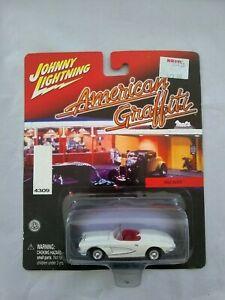 【送料無料】ジョニー雷電「アメリカン・グラフィティシリーズ「2001 JOHNNY LIGHTNING AMERICAN GRAFFITI SERIES 1962 VETTE画像