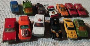 車・バイク, レーシングカー  lot matchbox lesney hot wheels majorette recovery vintage years 70