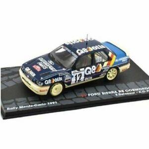 車・バイク, レーシングカー  ford sierra rs cosworth 4x4 delecour rally montecarlo 1991 143 ixo eaglemoss