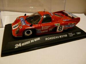車・バイク, レーシングカー  24h33m car 143 ixo 24 heures le mans rondeau m379b 1981