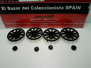 車・バイク, レーシングカー  18 ferrari f40 kit pocher plastic center for rims with center hubes 3l050