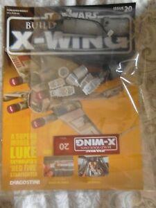 車・バイク, レーシングカー  deagostini build your own xwing fighter star wars issue 20 complete