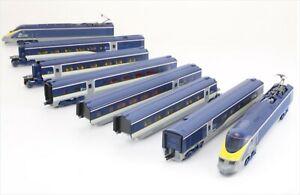 車・バイク, その他  1012978katontgv fs101297 eurostar color 8 cars basic set kato railway model n scale tgv fs