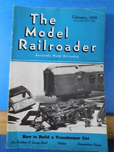 Transformers mod model railroader magazine 1939 ...