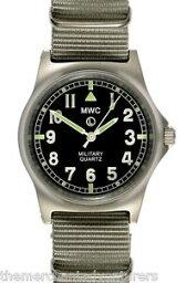 【送料無料】腕時計 ミリタリーウォッチステンレスグレーストラップmwc g10lm military watch 50m no date stainless steel grey strap