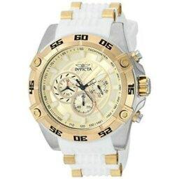 【送料無料】腕時計 インビクタスピードウェイメンズラウンドアナログクロノグラフホワイトシリコンウォッチinvicta speedway 25510 mens round analog chronograph white silicone watch