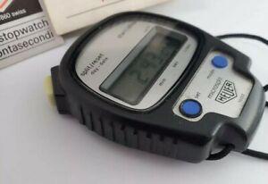 腕時計, 男女兼用腕時計  1980s heuer microsplit 1000 digital stopwatch