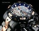 【送料無料】腕時計 インビクタリザーブヴェノムサムライドラゴンスイスクォーツブラックローズゴールドウォッチ