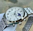 【送料無料】腕時計 エドックスレヴォーベールシルバーメンズスイスラグジュアリードレスダイバーウォッチedox les vauberts silver mens swiss 42mm luxury dress diver watch 016553marn