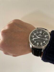 腕時計, 男女兼用腕時計  kienzle automatic mens 21 jewels 5 atm waterproof stainless 8108650 pilot