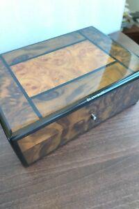 腕時計, 男女兼用腕時計  blancpain vintage collectors burl wood watch box ait223