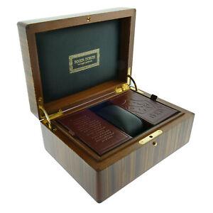 腕時計用アクセサリー, 腕時計収納ケース  roger dubuis brown lacquered watch presentation box outer box