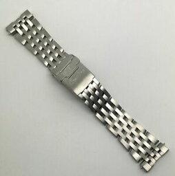 【送料無料】腕時計 ブライトリングナビティファイターズスチールブレスレットauthentic breitling navitimer fighters 740a steel bracelet 22mm x 18mm oem