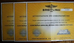 腕時計, 男女兼用腕時計  breitling cosc paperwork diploma part of watch set manual book guide booklet 34