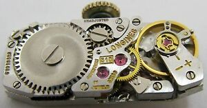 腕時計, 男女兼用腕時計  lady longines 510 manual watch movement for parts