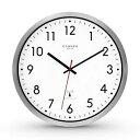 【送料無料】腕時計 カンダーベルリンアルミニウムファンクウォールクロックアナログセンチホワイトcander berlin mnu 3030 aluminium funk wanduhr lautlos leise analog 30,5 cm weis
