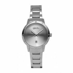 腕時計, 男女兼用腕時計  orologio solo tempo donna gooix dua05897 cassa e cinturino acciaio silver con d