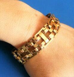 【送料無料】ジュエリー・アクセサリー アールデコゴールドメッキアンティークブレスレットゴールドプレートフィックスantique art deco gold plated jewel bijou beau bracelet ancien en plaque or fix