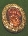 【送料無料】ジュエリー・アクセサリー バチカンマドンナメアリーイエスブロンズブローチthe vatican library madonna amp; enfant mary jesus bronze religieux broche 2h 48