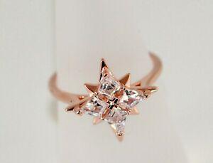 男女兼用アクセサリー, その他  swarovski simbolico star anello bianco, rosato placcato oro gr55 nuovo con box