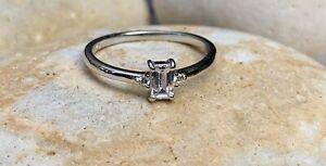 男女兼用アクセサリー, その他  925 argento sterling anello, anello di impilamento dainty, regno unito n, ta