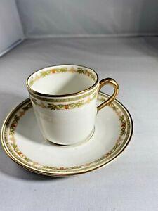 キッズ用食器, マグカップ・コップ  Antique Theodore Haviland Limoges France Tea Cup And Saucer