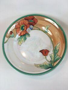 キッズ用食器, マグカップ・コップ  Vintage Morimura Noritake 9 Porcelain Hand Painted Floral Bowl Red Poppies