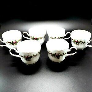 キッズ用食器, マグカップ・コップ  Johann Haviland Traditions Moss Rose Coffee Cup Set of 6