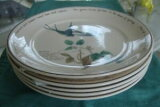 【送料無料】キッチン用品・食器・調理器具・陶器 エドワード・レディサラダプレートのノリテイクカントリー日記(5) Noritake Country Diary of an Edwardian Lady Salad Plates