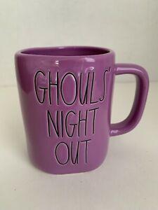 【送料無料】キッチン用品・食器・調理器具・陶器 レイ・ダン「グールズ・ナイト・アウト」パープル・ハロウィーンコーヒーマグ・バイ・マゼンタRae Dunn GHOULS' NIGHT OUT Purple Halloween 2020 Coffee Mug By Magenta画像