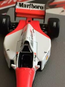 車・バイク, レーシングカー  deagostini 143 mclaren mp 48 ford hb d7 marlboro specifications fs de