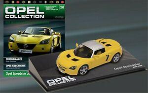 車・バイク, レーシングカー  eaglemoss opel speedster, bauj 200505, level 143, boxed and on blister card