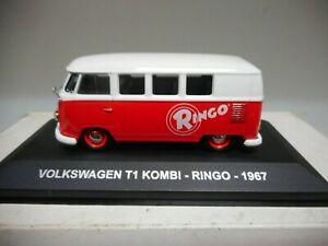 車・バイク, レーシングカー  volkswagen t1 transporter kombi ringo 1967 eaglemoss ixo 143