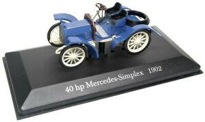 車・バイク, レーシングカー  deagostini mercedes simplex, bauj 1902, level 143, boxed and on blister card