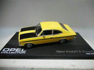 車・バイク, レーシングカー  opel kadett b coupe 196573 eaglemoss ixo 143