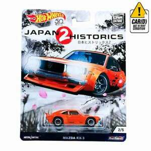 車・バイク, レーシングカー  hot wheels mazda rx3 real riders 25 2018 long card