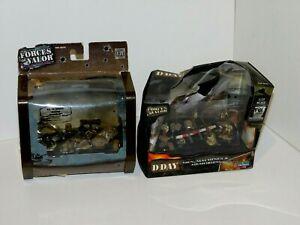 車・バイク, レーシングカー  lot de sets de us, britannique figurines 1944 forces of valor 93097, 83298 172