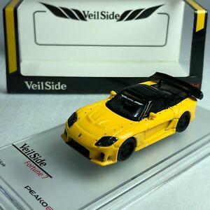 車・バイク, レーシングカー  164 peako64 peako mazda rx7 veilside fortune 7 yellow special edition