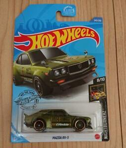 車・バイク, レーシングカー  hot wheels mazda rx3 us card