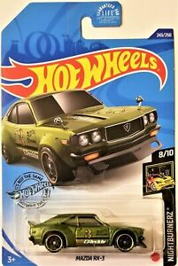車・バイク, レーシングカー  hot wheels 2020 nightburnerz 810 mazda rx3 243250 bbghd17