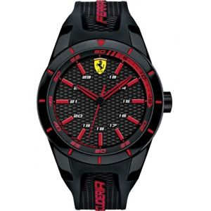 【送料無料】腕時計 ウォッチオロロジオスクーデリアフェラーリレッドリビジョンコレクションシリコーンorologio scuderia ferrari originale red rev collection silicone fer0830245