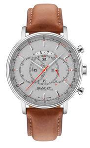【送料無料】腕時計 ウォッチメンズアナログクロノグラフレザーブラウンキャメロンgant herrenuhr cameron w10899 analog chronograph leder braun